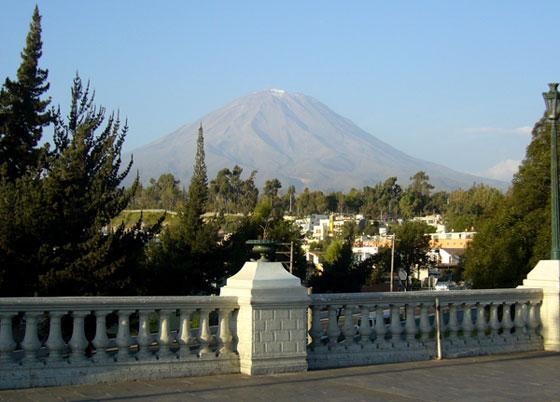 Misti Volcano Arequipa